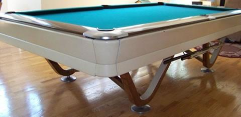 The Viscount Restored Antique Billiards Table